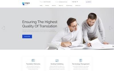 Lingvo - Translation Agency Landing Page Template