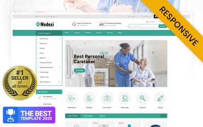 Medexi - Medische winkel OpenCart-sjabloon