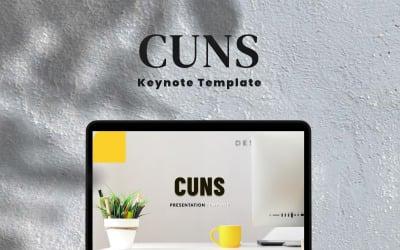 Cuns - Keynote template