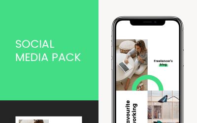Freelancer Instagram Templates for Social Media