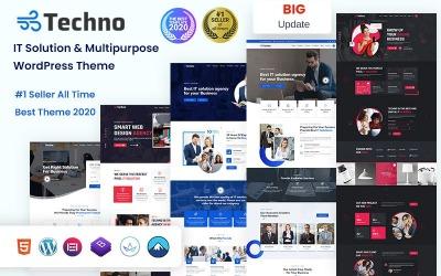 Techno - Solución de TI y tema de WordPress multipropósito