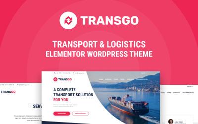 TransGo - Szállítás és logisztika WordPress Elementor téma