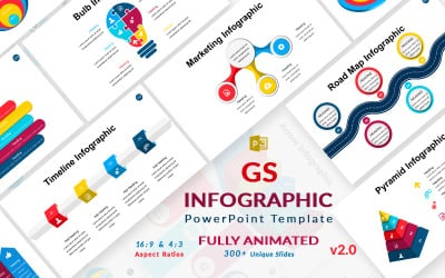 GS Infographic v2.0 PowerPoint template