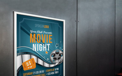 Film Flyer Poster - Corporate Identity Vorlage