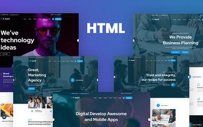 Fward - HTML5 Business Website Template