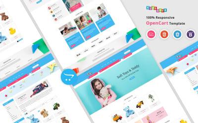 Kids - Responsive OpenCart Template