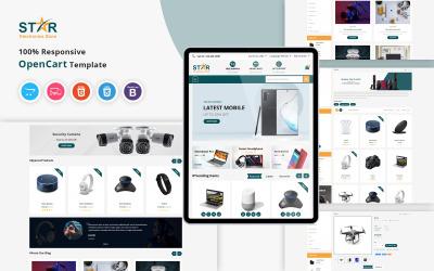 Csillag - Elektronika OpenCart sablon