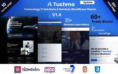 Tuchmo - Tema WooCommerce de servicios de soluciones tecnológicas de TI