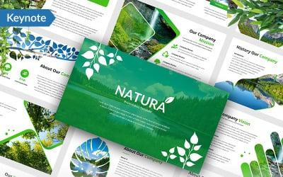 Natura - šablona Keynote
