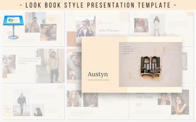 Apresentação de Austyn - modelo de apresentação