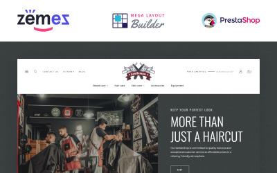 Gentleman - Barbershop eCommerce Template PrestaShop Theme