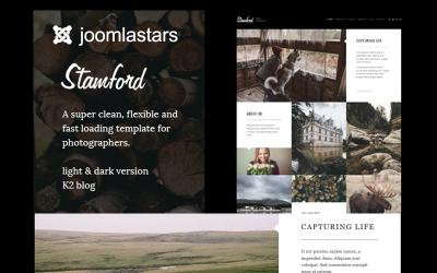 Stamford - Plantilla Joomla para fotografía, portafolio y blog