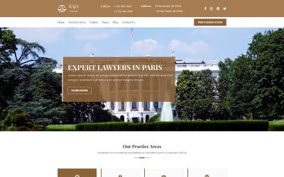 AJA | Plantilla PSD de ley y abogado