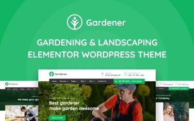 Gardener - Gardening and Landscaping WordPress Elementor Theme