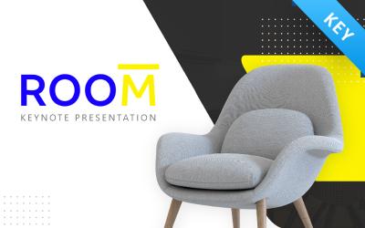 Room Furniture Presentation Fully Animated - Keynote template