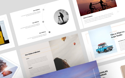 Senja-Google幻灯片创意模板
