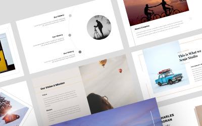 Senja - Plantilla creativa de Presentaciones de Google
