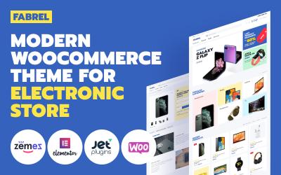 Fabrel - Tema WooCommerce en línea de la tienda de electrónica