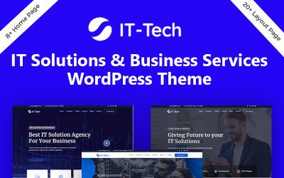 IT-Tech IT megoldás és üzleti szolgáltatás WordPress téma