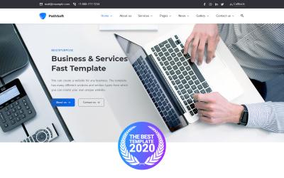 PathSoft - Thème WordPress pour affaires et services polyvalents FastSpeed