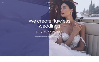 Bridesy - Wedding Planner Joomla Template