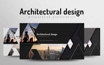 Architecture Powerpoint Templates Architecture Ppt Template Templatemonster