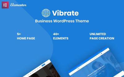 Vaibrate - Business Responsive WordPress Theme