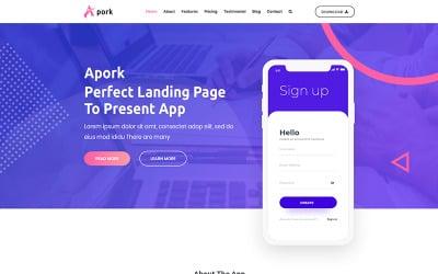 Apork - WordPress-thema voor productlanding