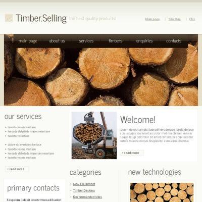 Szablon Facebook HTML CMS #43843 na temat: drewno