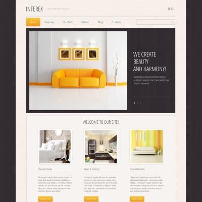 Drupal Design Templates Themes Templatemonster Interior Theme Free