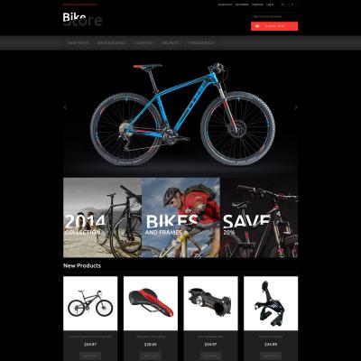 Cycling Responsive Magento Theme