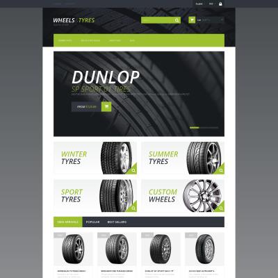 Responsives PrestaShop Theme für Räder & Reifen