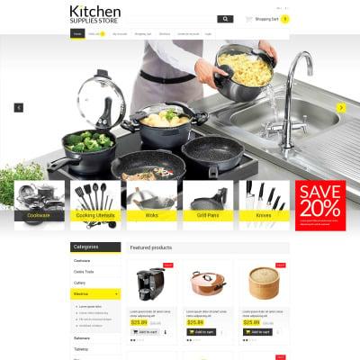 online kitchen warehouse opencart template #51886