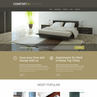 Modren Apartment Design Themes Interior Unique N And Decorating Ideas