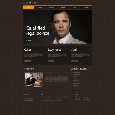 Moto CMS HTML Vorlage für Rechtsanwalt