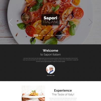 Italian Restaurant Responsive Drupal шаблон