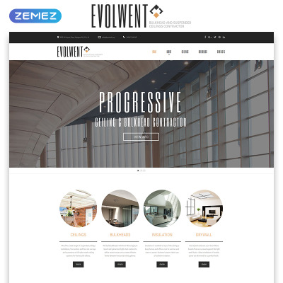 Html flash templates for Interior design business website