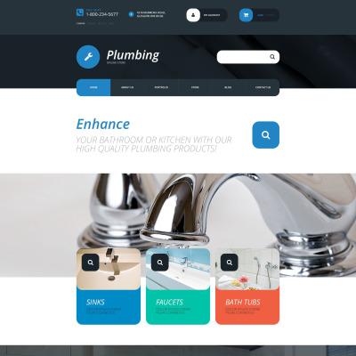 Plumbing Responsive WooCommerce Motiv