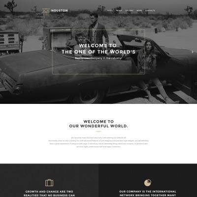 Thème WordPress adaptatif  pour site de studio de photographie