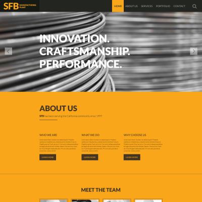 industrial website templates. Black Bedroom Furniture Sets. Home Design Ideas