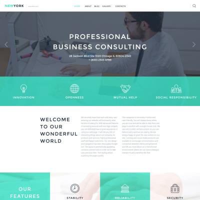 Business Responsive Tema WordPress
