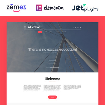 Education Responsive Tema WordPress