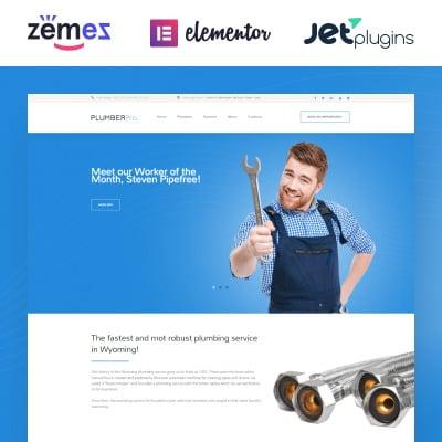 Plumbing Responsive WordPress Theme