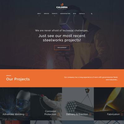 Steelworks Responsive Tema WordPress