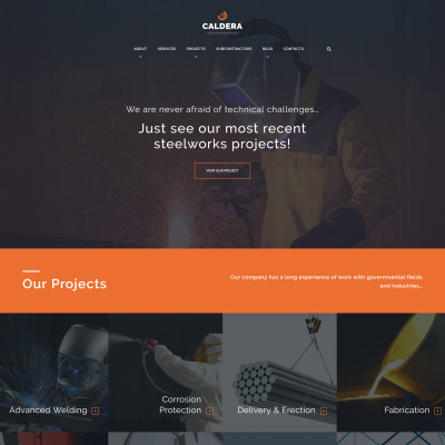 Steelworks Responsive WordPress Motiv