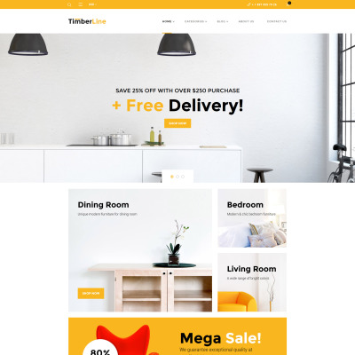 Furniture Responsive WooCommerce Sablon