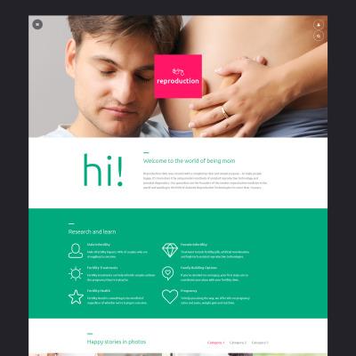 Reproduction Clinic Responsive Joomla šablona