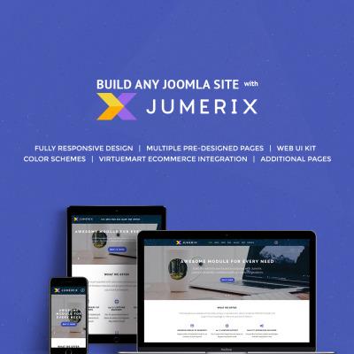 Flexível template Joomla №60060 para Sites de Negócios e Prestadores de Serviços