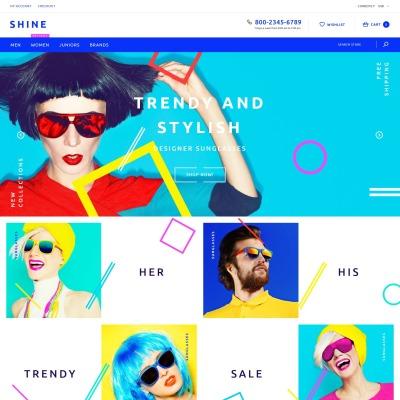 Responsives Shopify Theme für Brillen