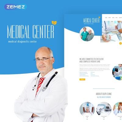 Flexível template Joomla №60027 para Sites de Medico